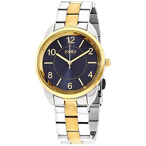 Jones New York Blue Dial Stainless Steel Ladies Watch 11746S528-826