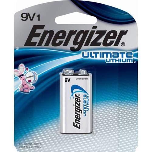 Energizer LA522SBP 9V Lithium Battery for Smoke Detectors