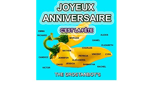 Joyeux Anniversaire Creole By The Grostanboy S On Amazon Music