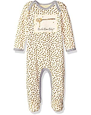 Unisex Organic Lap Shoulder Footed Coverall