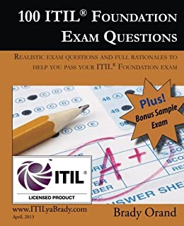 Itil foundation exam study guide 8601401097846 computer science 100 itil foundation exam questions pass your itil foundation exam fandeluxe Images