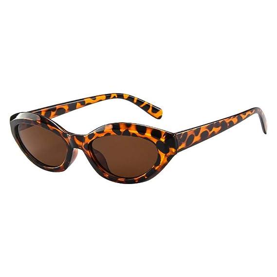 URIBAKY Gafas Vintage Lentes de sol tipo ojo de Gato Estilo ...