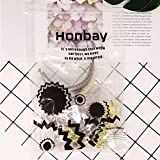 Honbay 6PCS Metal Half Round Purse Frame Coin Bag
