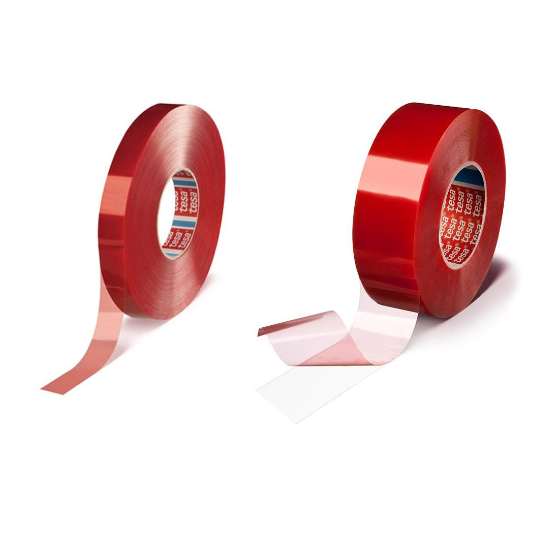 tesa 4965 Double Coated Polyester Film Tape: 3/4 in. x 60 yds. (Clear)