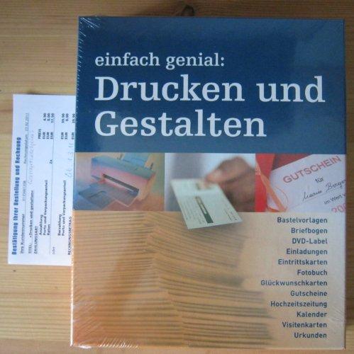 Einfach Genial Drucken Und Gestalten Amazon De Bücher