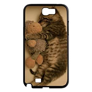 T-TGL(RQ) Customized Cat Pattern Protective Cover Case for Samsung Galaxy Note 2 N7100