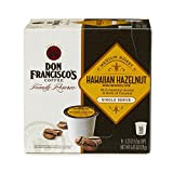 dry roasted coconut - Don Francisco's  Hawaiian Hazelnut, Rich Premium 100% Arabica Coffee Beans, Medium Roast, Single Serve Pods for Keurig, Family Reserve, 18-Count