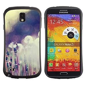 Pulsar iFace Series Tpu silicona Carcasa Funda Case para SAMSUNG Galaxy Note 3 III / N9000 / N9005 , Plant Nature Forrest Flower 59