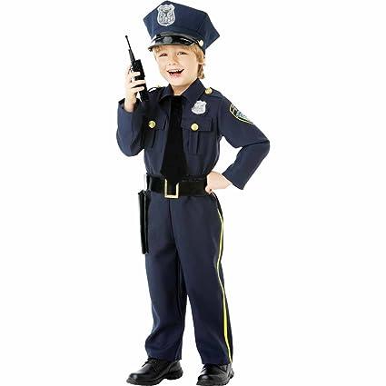 Amscan International - Disfraz infantil policía (999665)