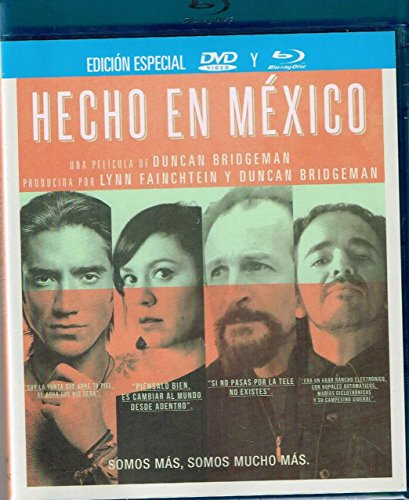 HECHO EN MEXICO [BLU-RAY + DVD- IMPORT & MULTIREGION] LUPE ESPARZA/BLUE DEMON/LILA DOWNS/CHAVELA VARGAS Y MAS...