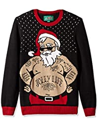 Christmas Ugly Sweater Co - Sudadera para Hombre, diseño de Papá Noel