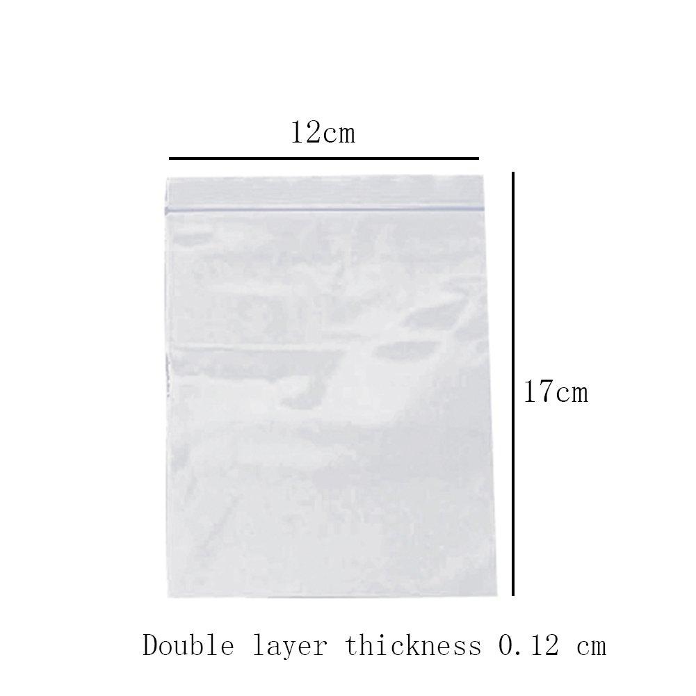 6cm*0.06mm 500X Toruiwa Verschlussbeutel Druckverschlu/ß Beutel Selbstklebend S/ü/ßigkeiten Plastikt/ütchen Pl/ätzchenbeutel Verpackungsbeutel f/ür Cookie Kekse Snack Geschenk Transparent 4