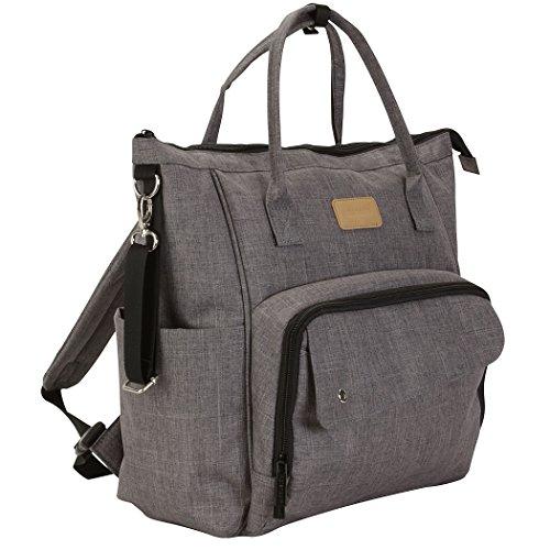 (Kalencom Fashion Diaper Bag Backpack: Nola Backpack by Kalencom (Stone Gray))