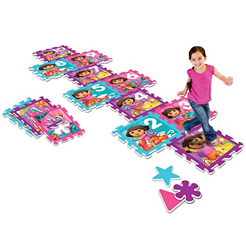 Nickelodeon Dora the Explorer Play Mat, Multicolor
