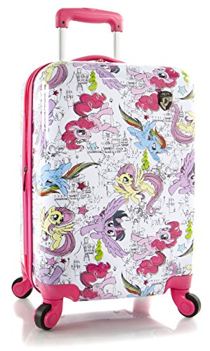 Pony Spinner - Heys America Girl's My Little Pony Tween Spinner Carry-On Luggage