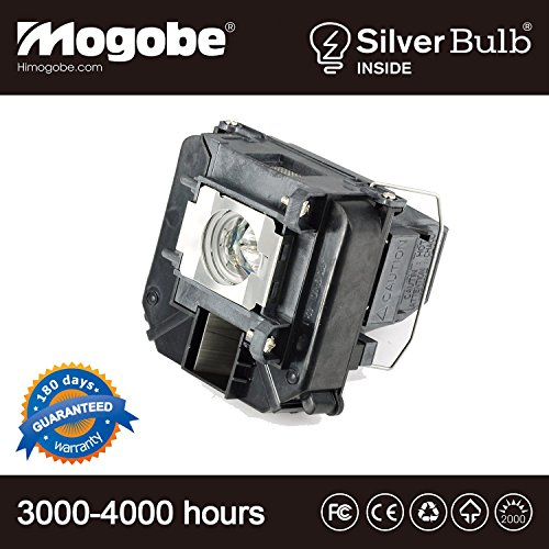 for ELPLP68 Replacement Projector Lamp with Housing for 3010 3020 Projector by Mogobe(Silver Bulb Inside) ()