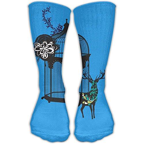 YUANSHAN Socks Deer Cage Women & Men Socks