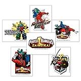 Smile Makers Power Rangers Tattoos - 144 Per Pack