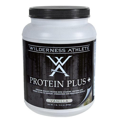 Wilderness Athlete Protein Plus, Vanilla, 37 Ounce For Sale