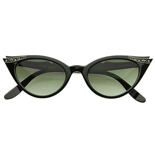 Gafas de sol de KISS® - mod. PIN-UP de los CRISTALES de Ojo de Gato de las MUJERES de la vendimia de...