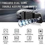 "TOGUARD Backup Camera 7"" Mirror Dash Cam Touch"