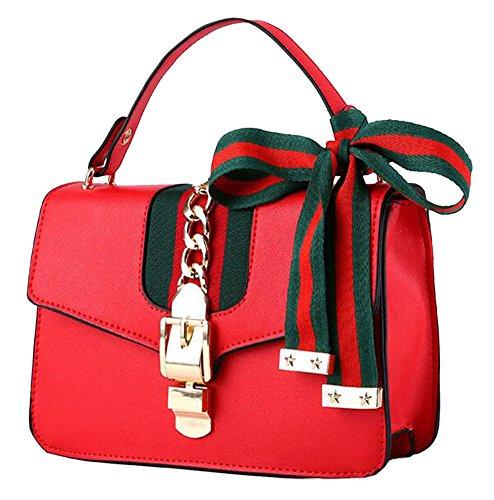 Red Taille Dos Collection® Beige L W Sac à porté Femme Main amp; Unique au pour Blanc qpBOZxBw