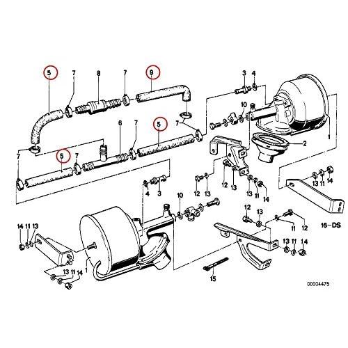 Cohline Brake Booster Hose 12 X 19 Mm 34331115926 85off