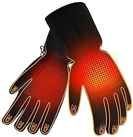 YE/&ZI Winter Heated Gloves Constant Temperature Thicken Hand Warmers Touch Screen Thermal Gloves USB Charging Touch//Switch Version Motorcycle Electric Car Riding Outdoor Sports Gloves