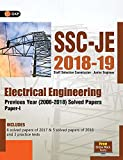 SSC JE Electrical Engineering for Junior Engineers Previous Year Solved Papers (2008-18),  2018-19 for Paper I