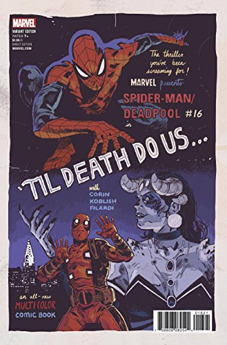 SPIDER-MAN DEADPOOL #16 WALSH POSTER VAR