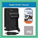 DMW-BCG10 Rapid AC/DC Battery Charger For Panasonic Lumix DMC-ZS7 DMC-ZS10, DMC-ZS8