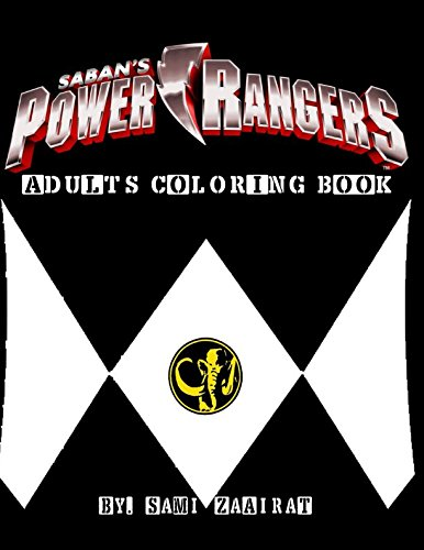 Download Power Rangers: Adults coloring book (Power Rangers (colors)) PDF