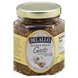 DeLallo Roasted Garlic in Oil 5.5 OZ (Pack of 12)