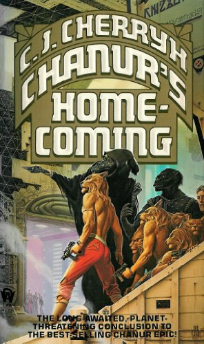 book cover of Chanur\'s Homecoming