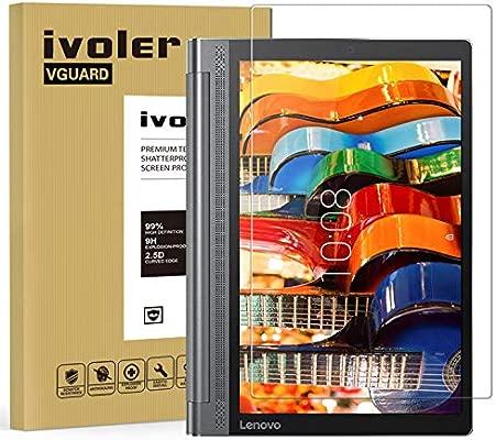 ivoler Protector de Pantalla para Lenovo Yoga Tab 3 Plus/Lenovo Yoga Tab 3 Pro 10.0 Pulgadas, Cristal Vidrio Templado Premium