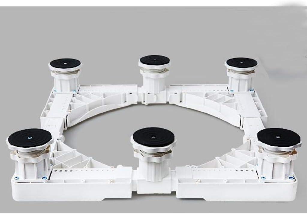 YBJPshop 洗濯機ベース ユニバーサル洗濯機ベースブラケットステンレス鋼棚固定高さ冷蔵庫ブラケット 滑り止めブラケットベースブラケット、滑り止め (Size : B)