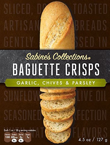 Sabines Collections Crisp Baguette Garlic Chive, 4.5 oz