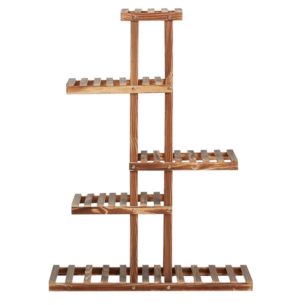 NNIU- Bonsai da esterno in legno con balcone ( dimensioni : 72*56*25cm )