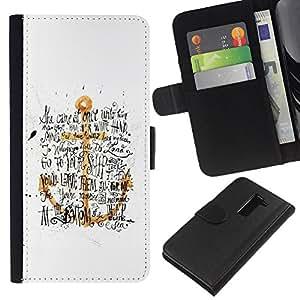 JackGot ( Ancla de Oro Amarillo Blanco Texto Negro ) LG G2 D800 la tarjeta de Crédito Slots PU Funda de cuero Monedero caso cubierta de piel