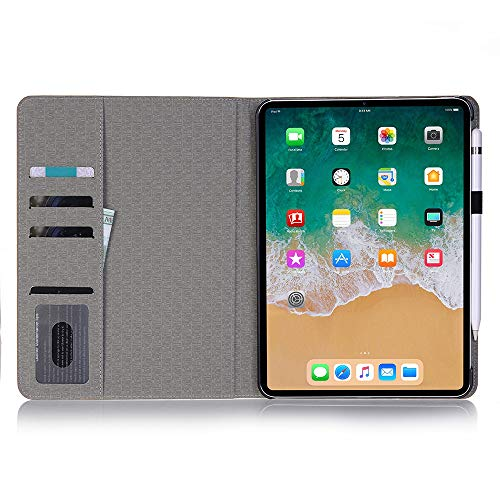INorton Pro 11 Case with Card Slot, Stand Protective Cover Premium PU Leather,Lightweight Slim Shockproof Sleeve Compatible with iPad Pro 11 by INorton (Image #2)