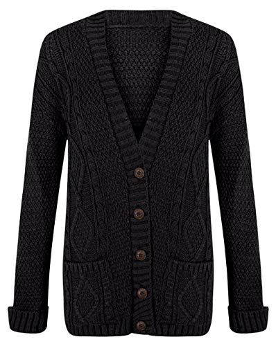 Bouton Longues Femmes clothing Grand p Aran Manches Tricot e Chunky Cable wtTHF