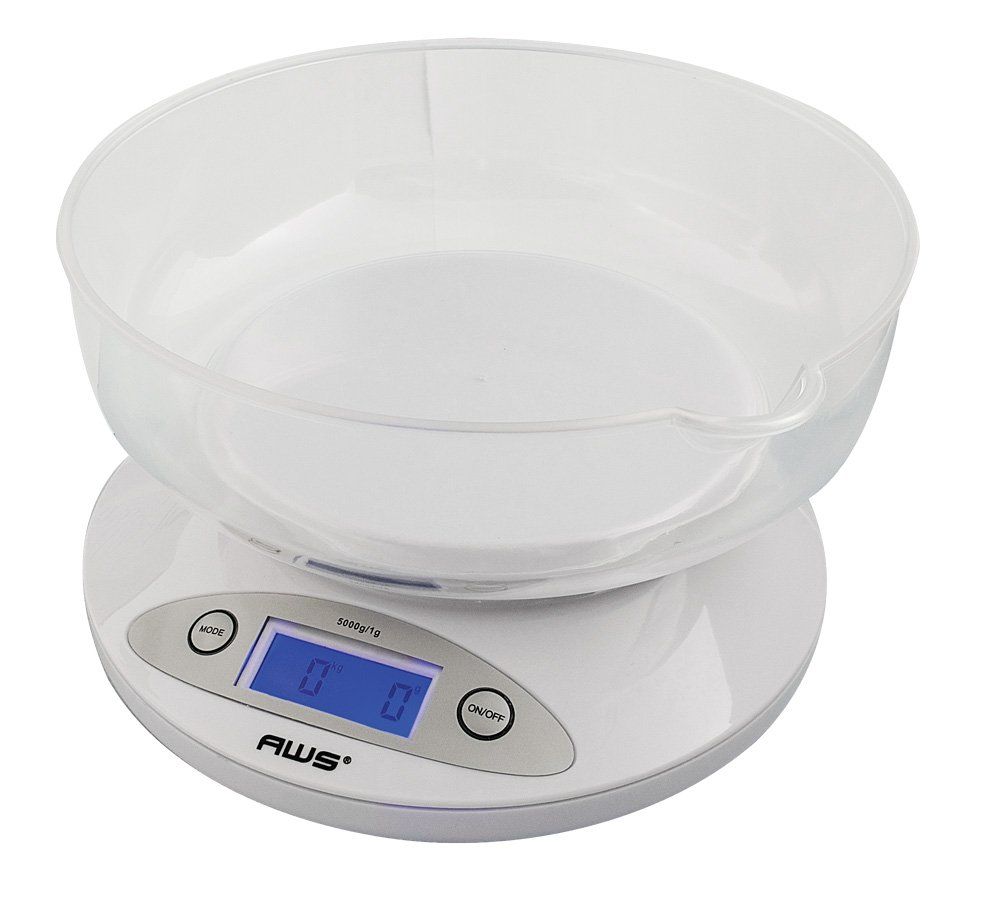 Amazon.com: American Weigh Scales Digital Kitchen Hobby Laboratory Scale 11  Lb 0.1oz 5000 Gram: Kitchen U0026 Dining