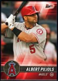 2017 Topps Bunt #106 Albert Pujols Los Angeles Angels Baseball Card