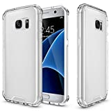 MNtech New Crystal Hard Air Hybrid Protective Case Cover (Clear, For Samsung Galaxy S7)