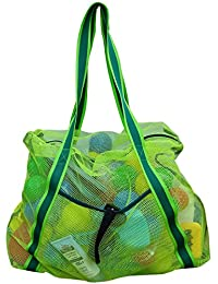 Large Mesh Beach Bag Foldable Lightweight Heavy Duty Toys Tote Bag