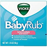 Vick's BabyRub Soothing Ointment, 1.76 oz Per Jar (5 Jars)