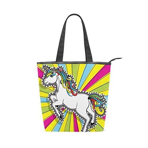 tout Fourre Sac À Couleur Pop De Bandoulière Alaza Main Unicorn Art Pq6xt5w5