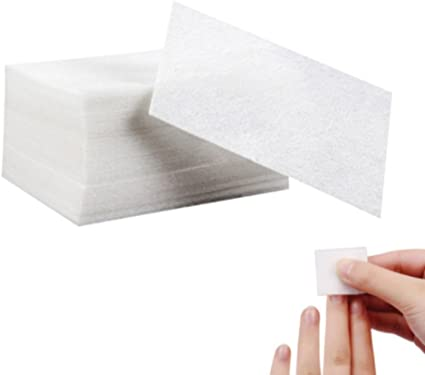 900 x toruiwa celulosa algodón cuadrado para Nail Art Uña Manicura: Amazon.es: Belleza