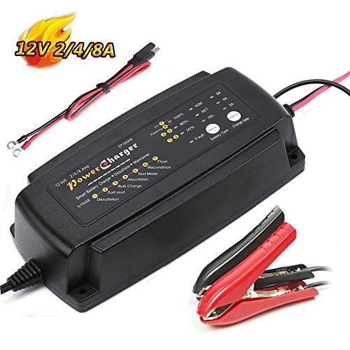24v 3a Battery (Smart Car Battery Charger Maintainer 7-Stage 12V 5A 24V 3A 36V 2A CE approved fast AGM/SLA/GEL Sealed Lead acid Battery Charger electric lawn mower or garden)