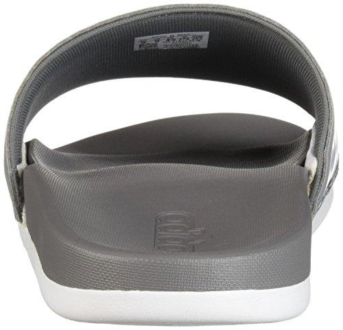 Adilette Uomo grey Comfort white Grey Adidas Ep6d7nE